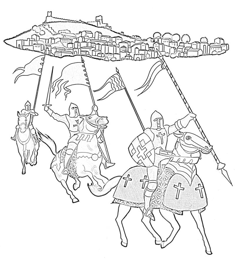 Middle Ages Worksheets Knight