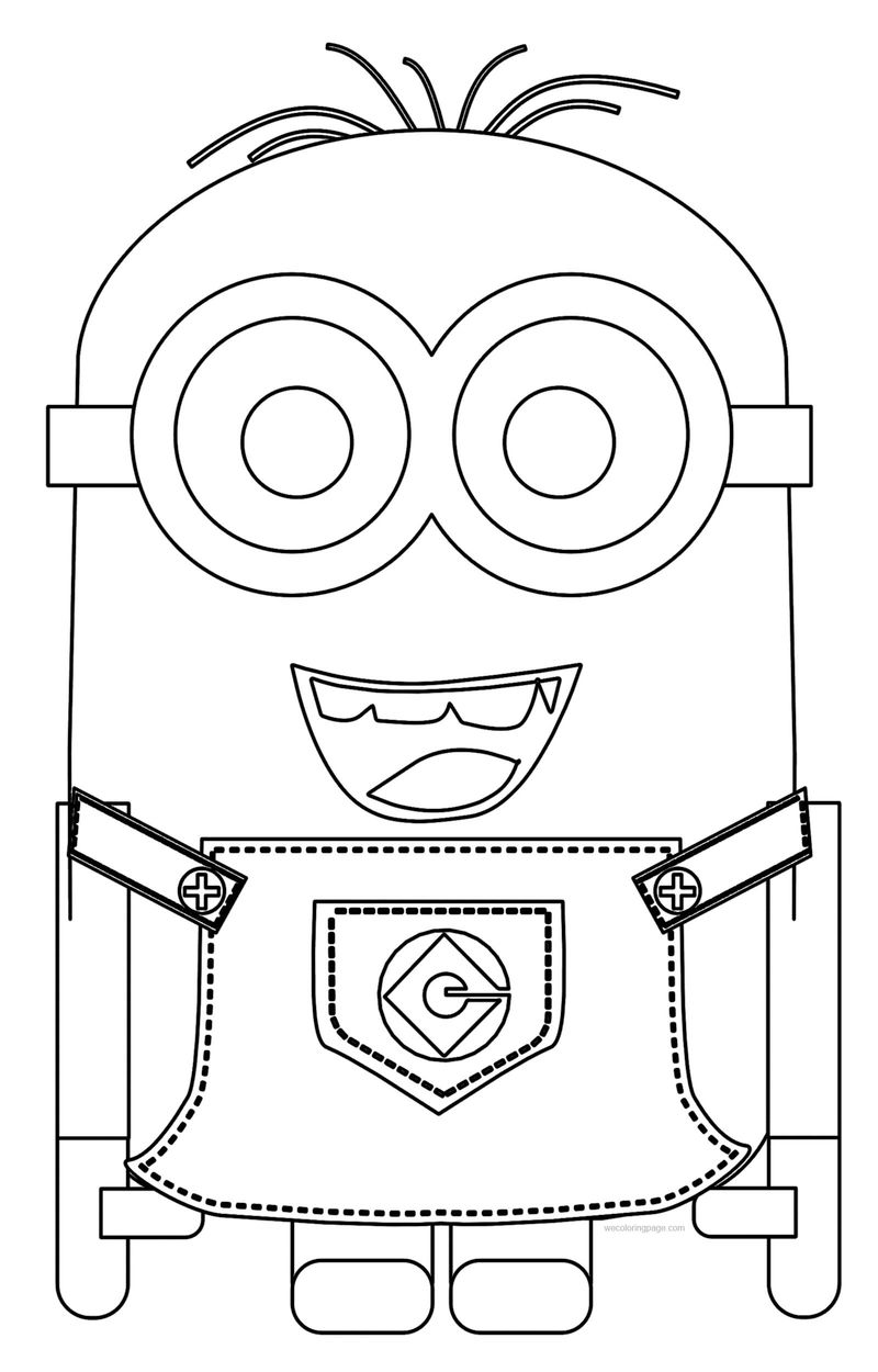 Minion Happy Best Coloring Pages Books
