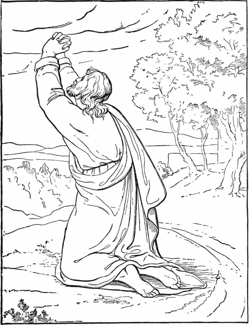 Miracles Of Jesus Coloring Pages