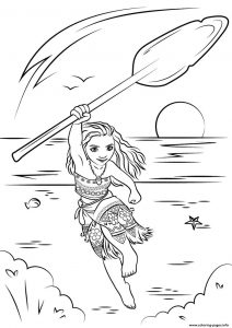 Moana colouring books
