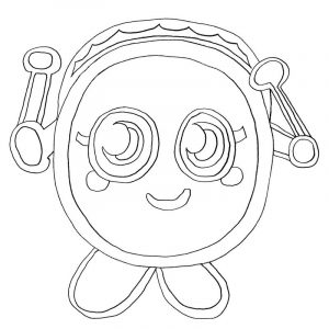 Moshi monster coloring pages 001
