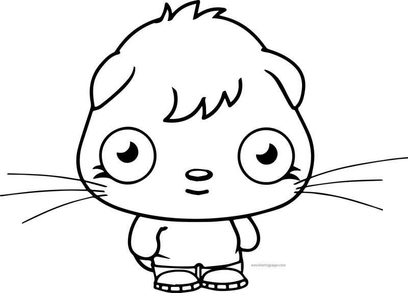 Moshi Monsters Coloring Page 04