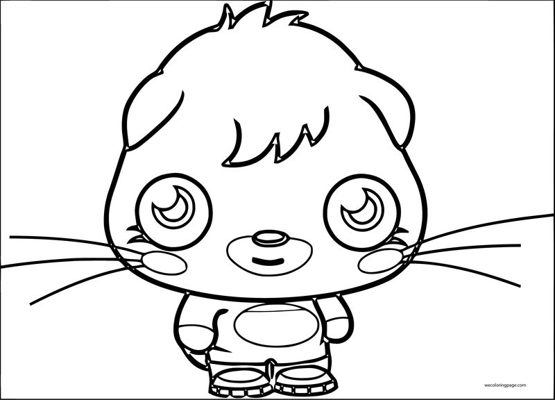Moshi Monsters Coloring Page 05