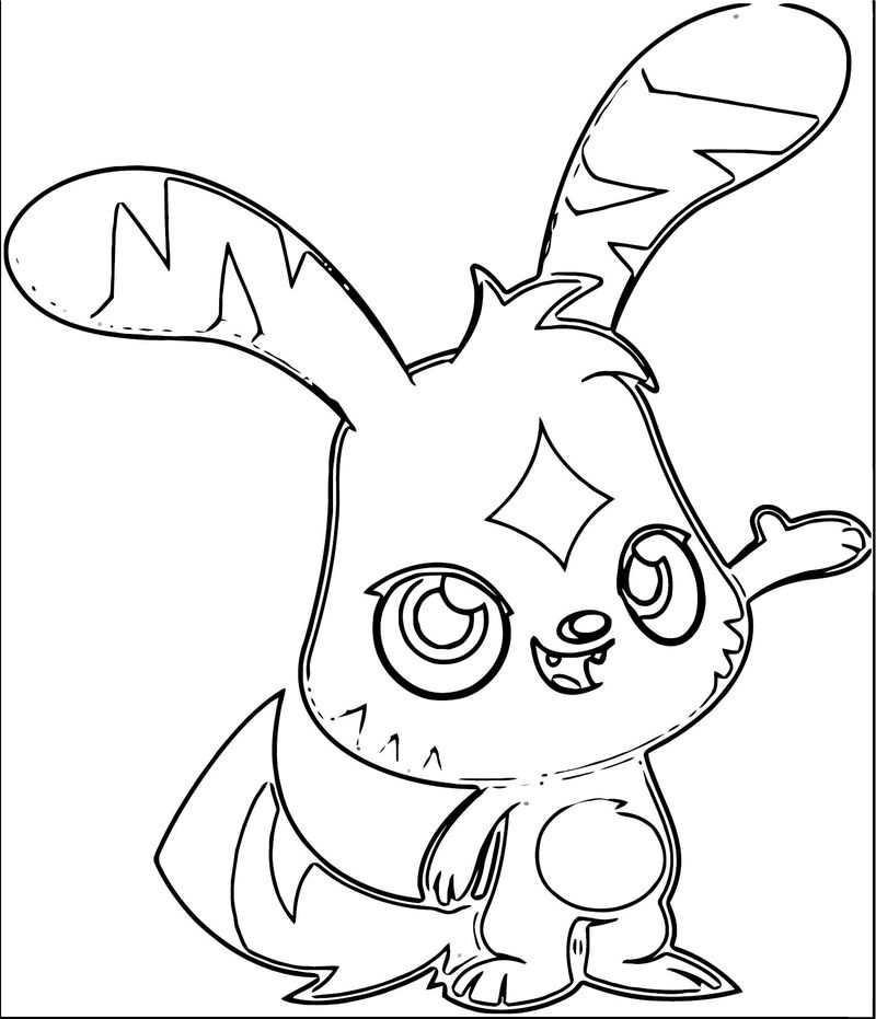 Moshi Monsters Coloring Page 14