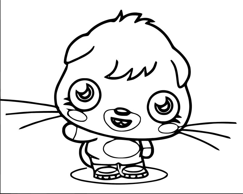Moshi Monsters Coloring Page 23