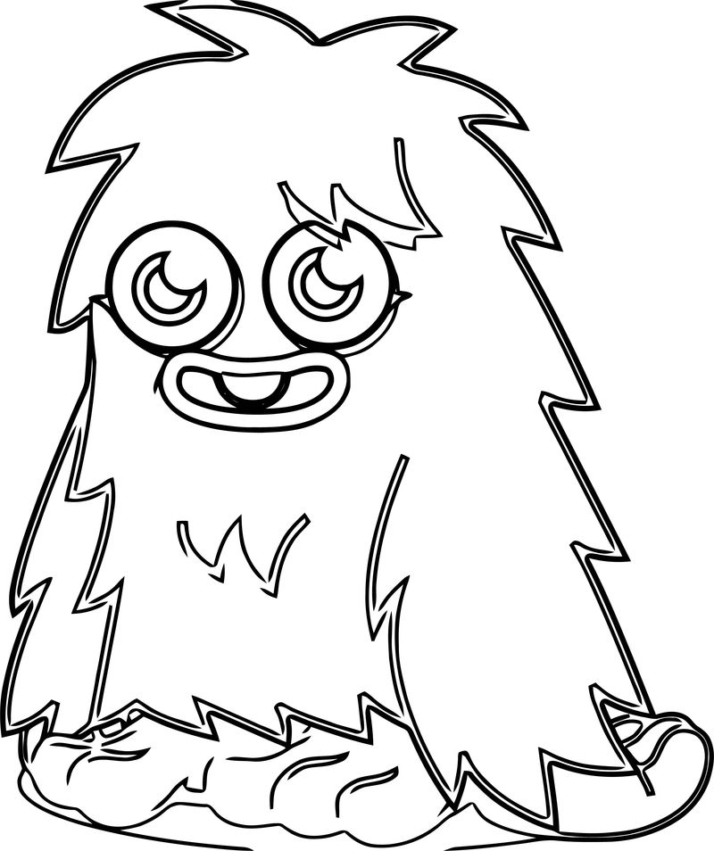 Moshi Monsters Coloring Page 29