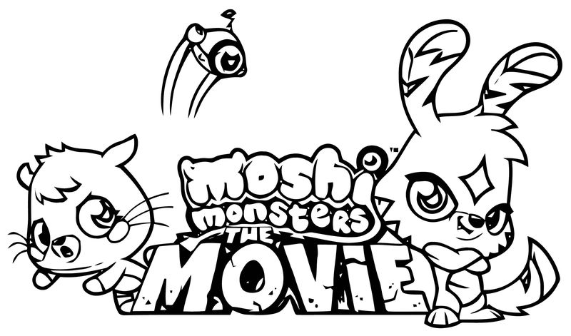 Moshi Monsters Coloring Page 37