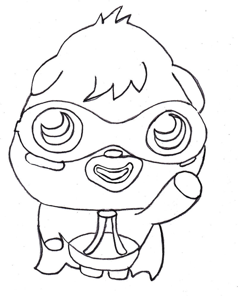Moshi Monsters Coloring Pages For Kids 001