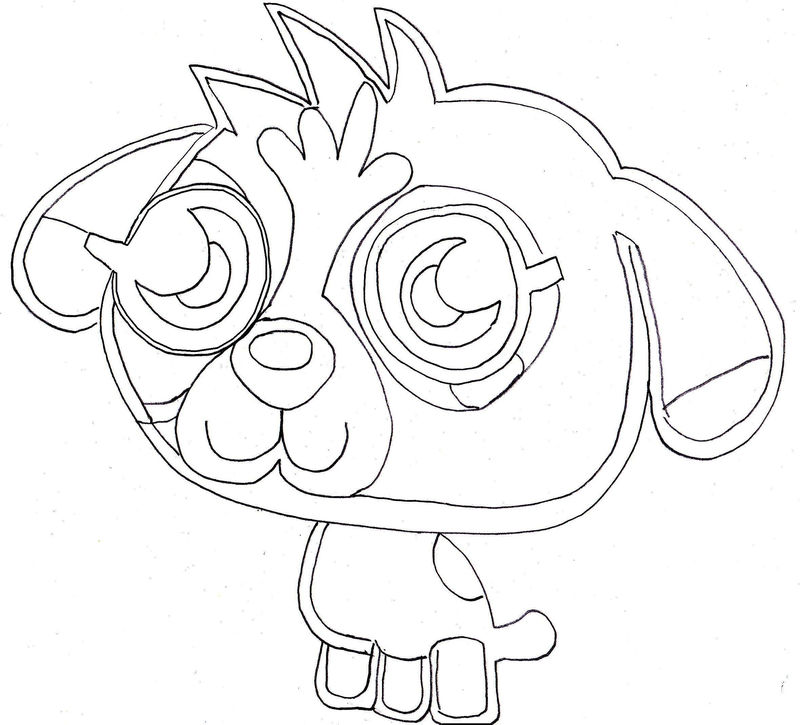Moshi Monsters Coloring Pages To Print 001