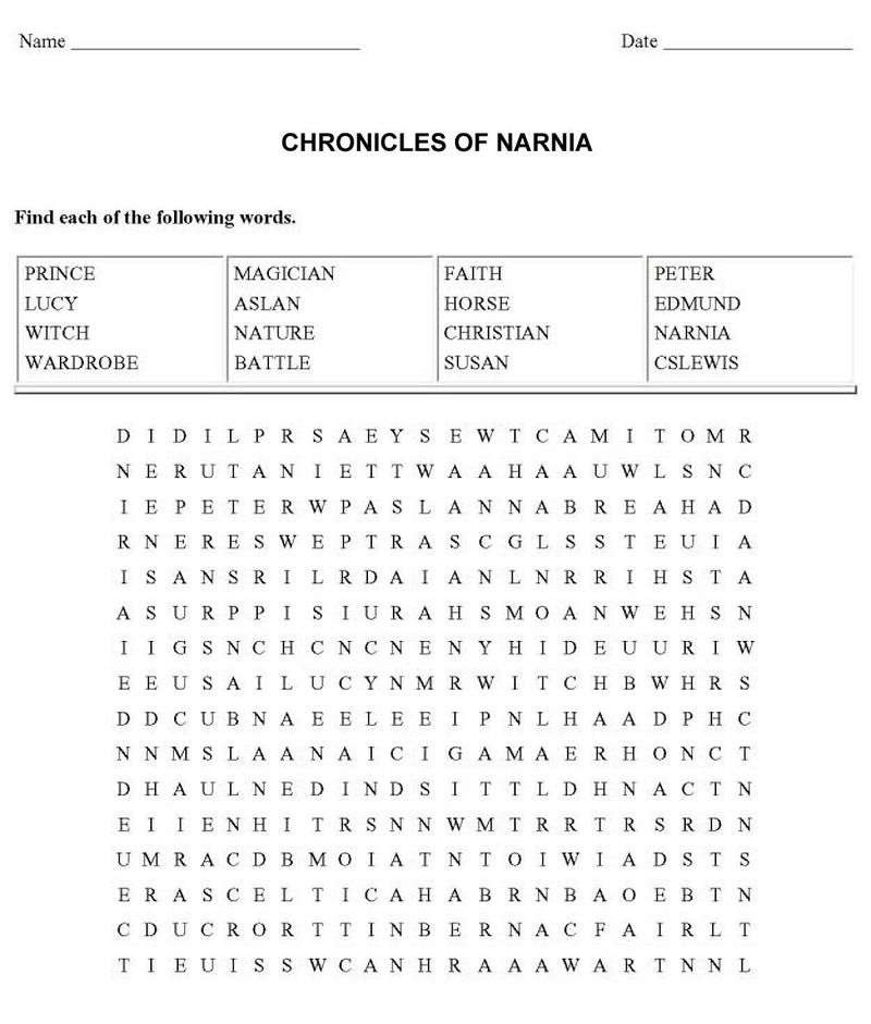 Movie Word Search 001 1