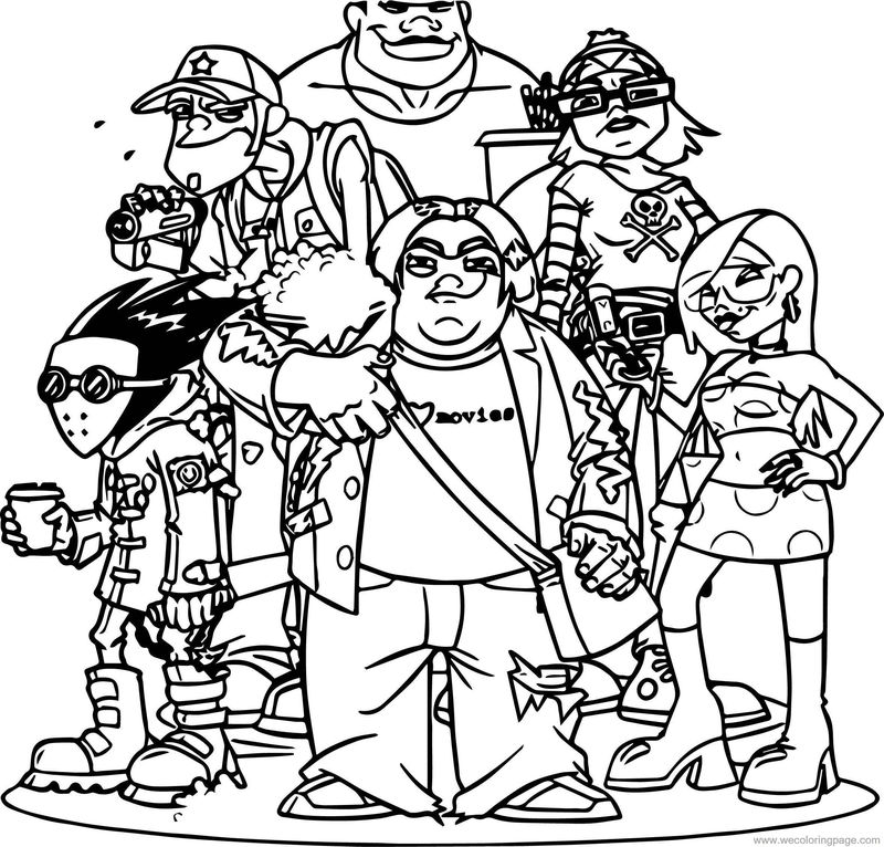 Movies Characters Coloring Pages