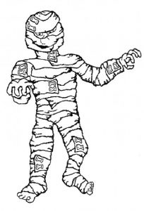 Mummies pictures for kids scary