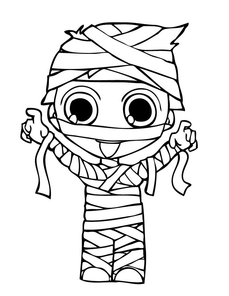 Mummy Pictures For Kids Cute