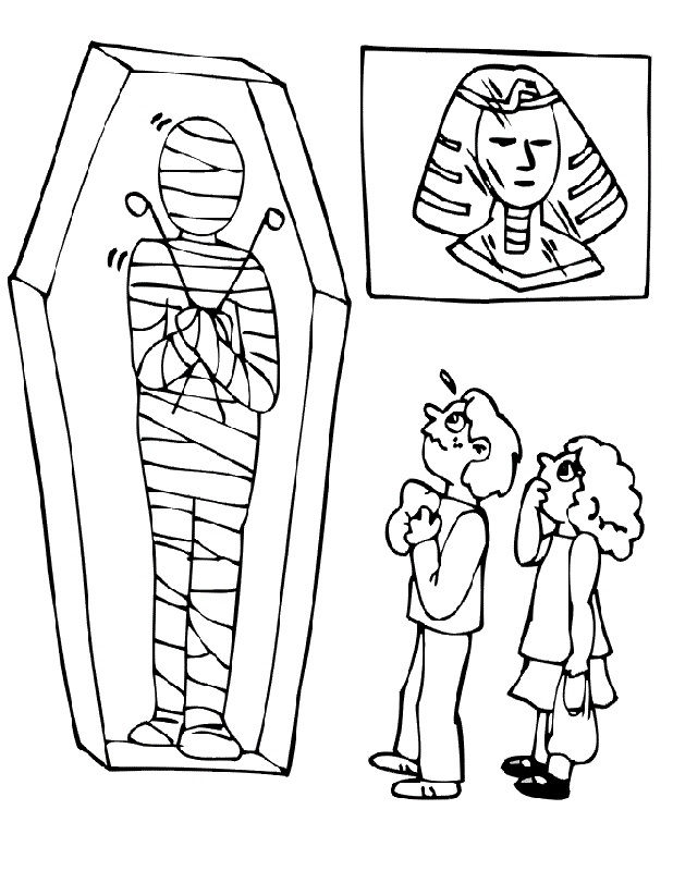 Mummy Pictures For Kids To Print