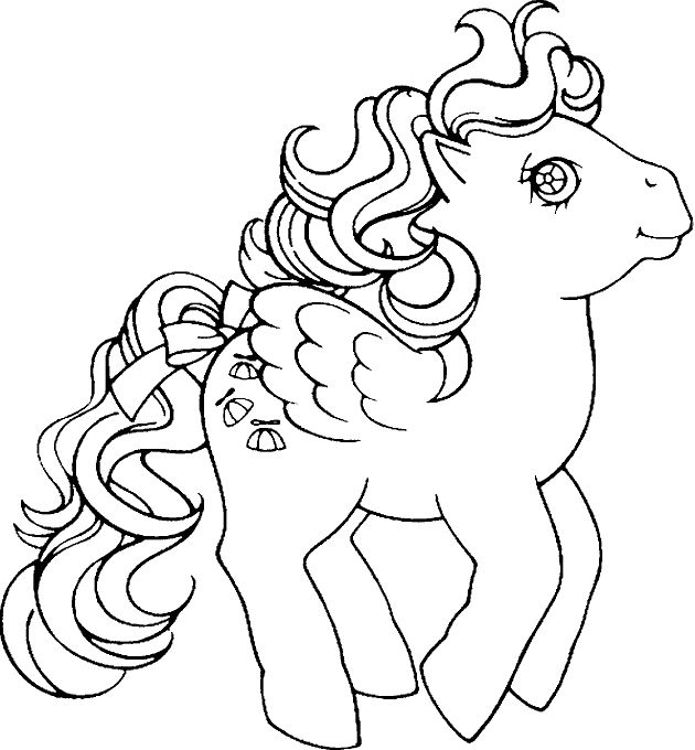 My Little Pony Coloring Pages 3 001