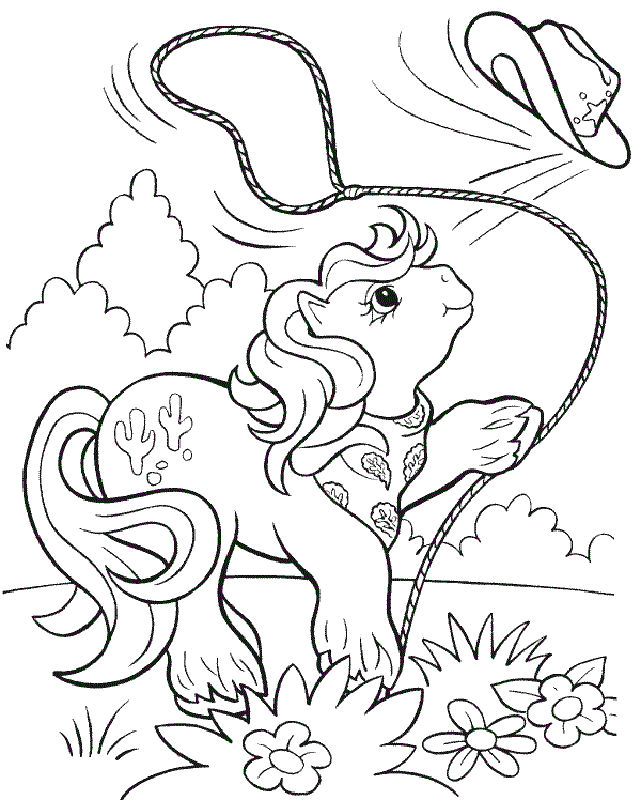 My Little Pony Coloring Pages For Girl