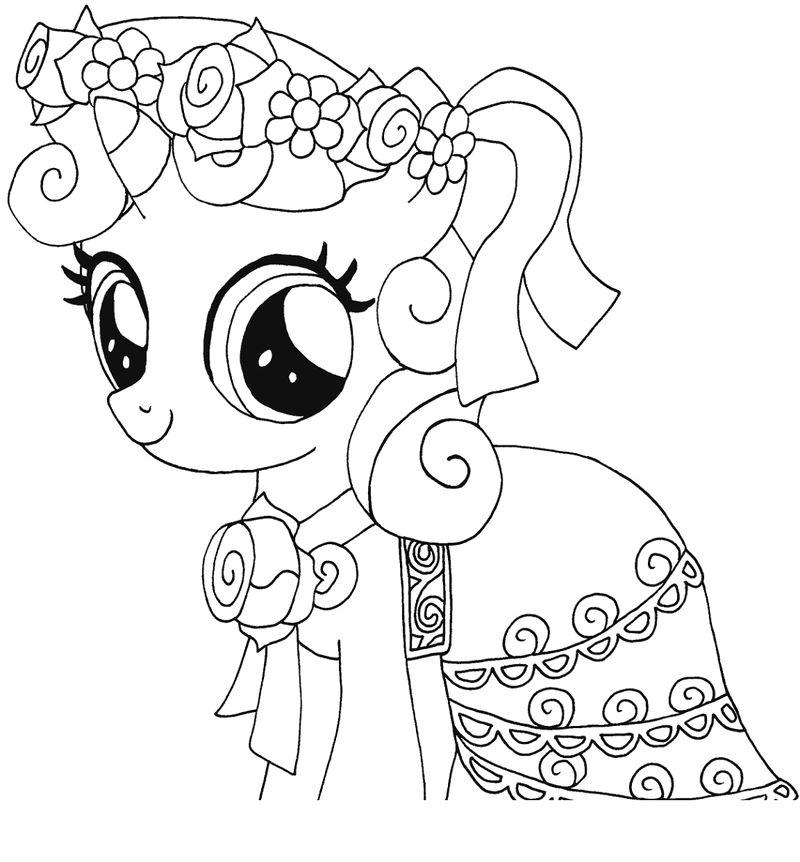 My Little Pony Coloring Pages Pdf Funny