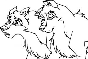 New balto base wolf coloring page