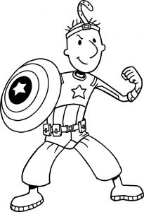 Nickelodeon avengers doug coloring page