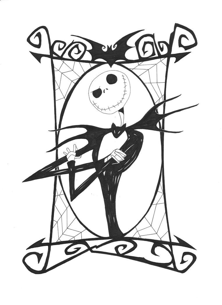 Nightmare Before Christmas Coloring Pictures.Nightmare Before Christmas Coloring Coloring Sheets