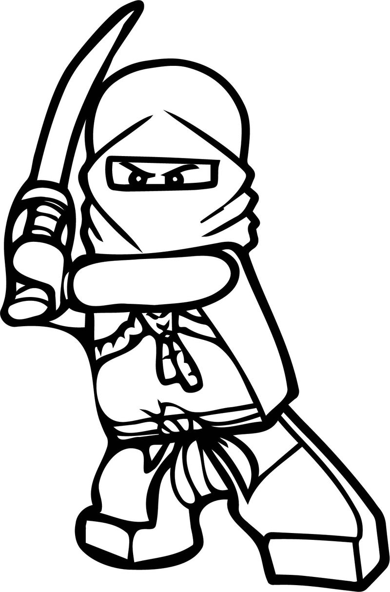 Ninjago Blade Coloring Pages