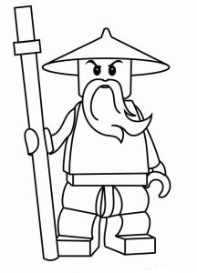 Ninjago coloring pages 001