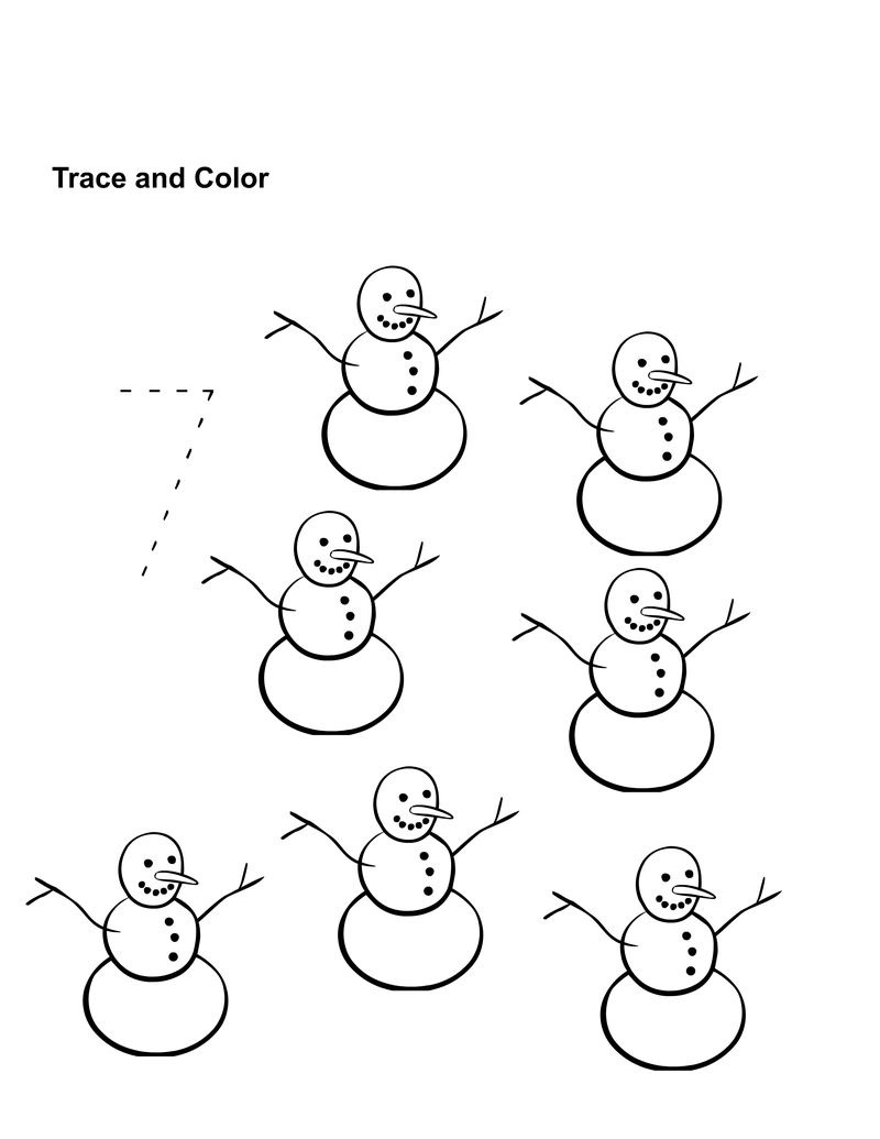 Number 7 Worksheet For Kindergarten