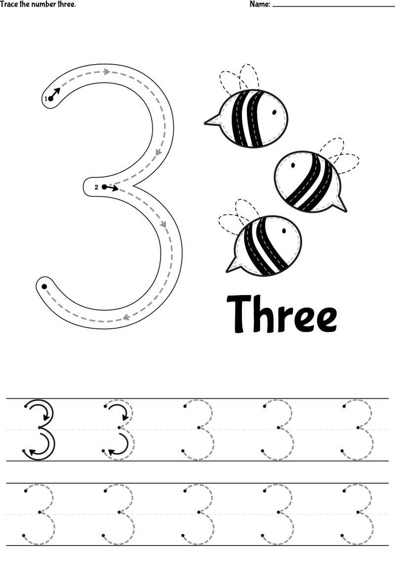 Number Tracer Pages 3