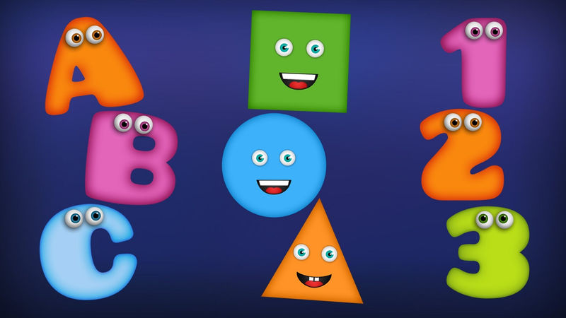 Numbers And Shapes For Toddlers