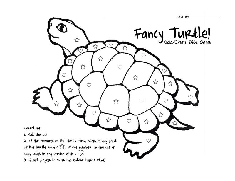 Odd And Even Numbers Worksheets Turtle - Coloring Sheets
