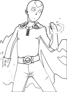 One punch aang sharknob avatar aang coloring page