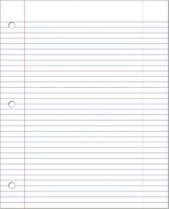 Paper png notebook