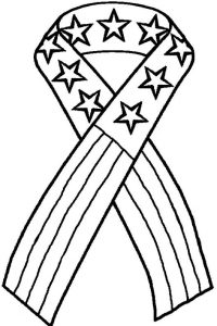 Patriot day coloring page