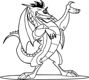 Perfect super american dragon jake long coloring page