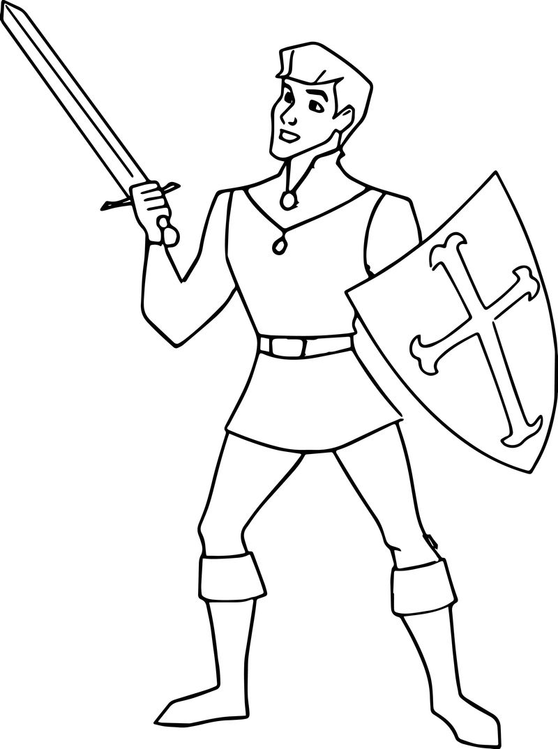 Phillip Sword Shield Coloring Pages