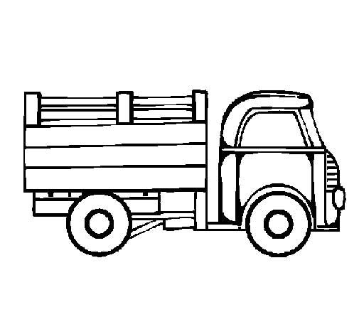 Pick Up Truck Coloring Pages