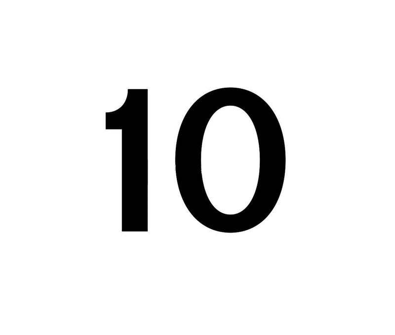 Picture Of Number 10 For Kids