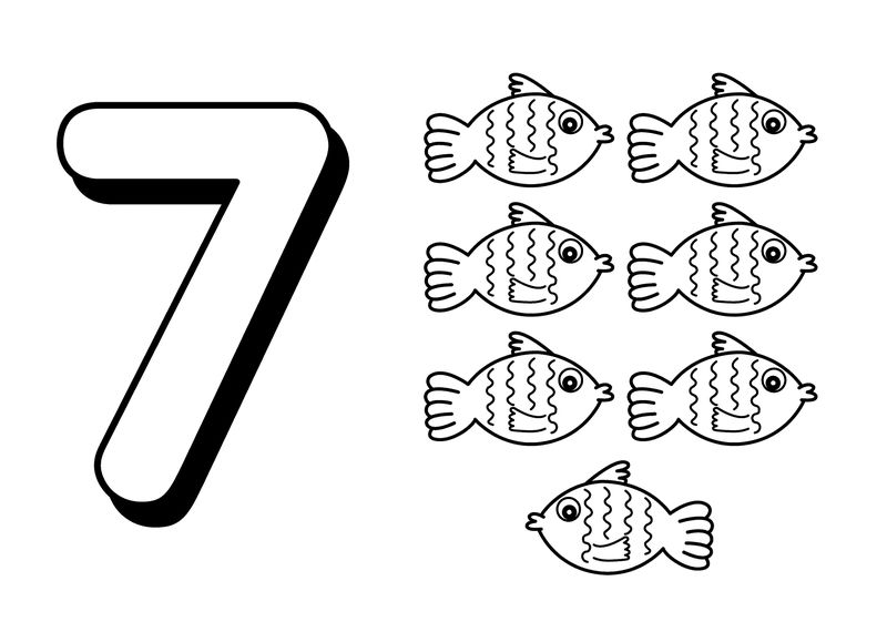Picture Of Numbers 7