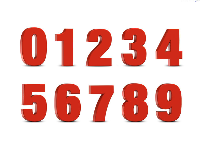 Picture Of Numbers Color