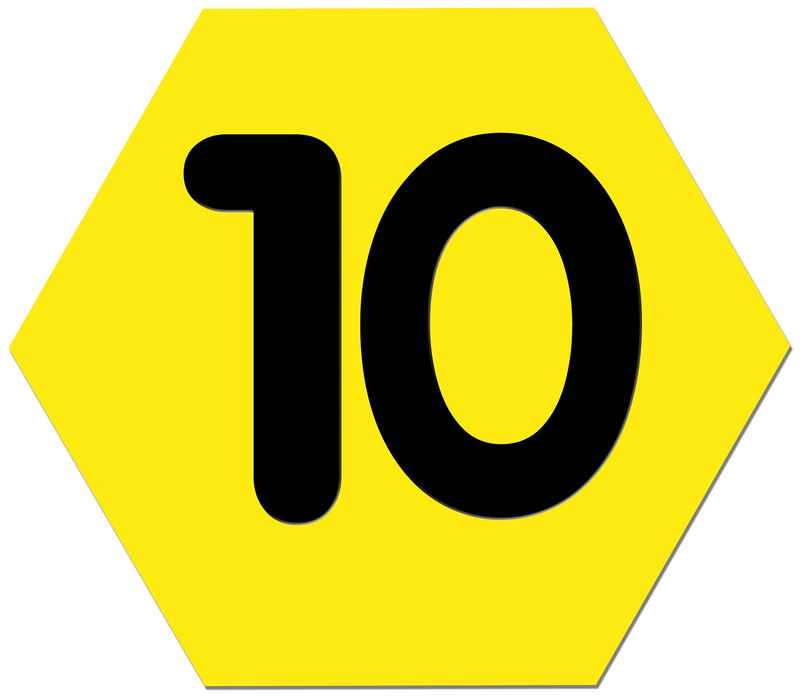Picture Of The Number 10 Page