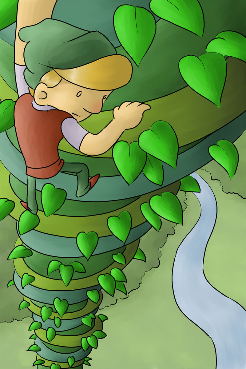 Pictures Of Jack And The Beanstalk Cartoon 001