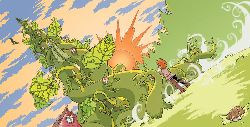Pictures Of Jack And The Beanstalk Story 001