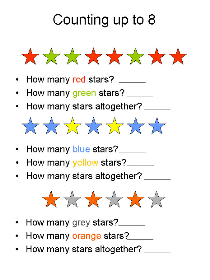 Pictures Of Math Worksheets Color