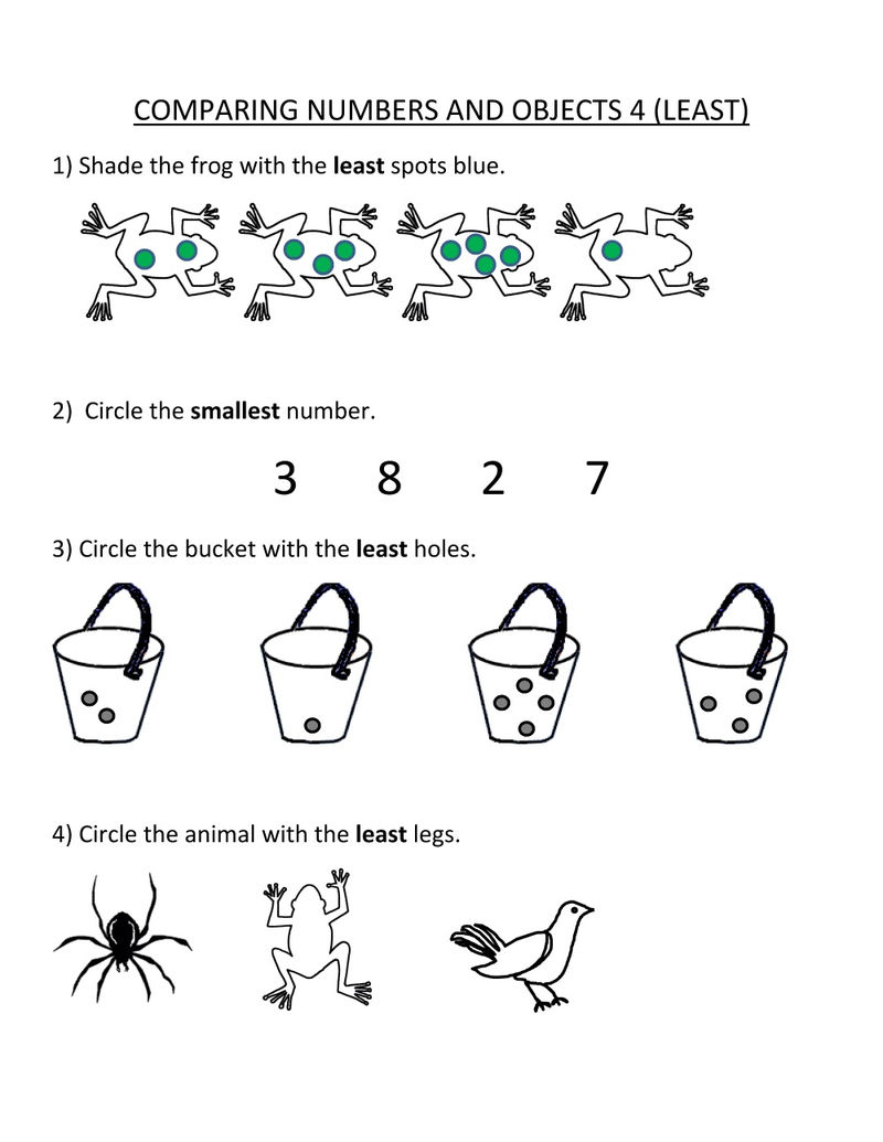 Pictures Of Math Worksheets For Kids