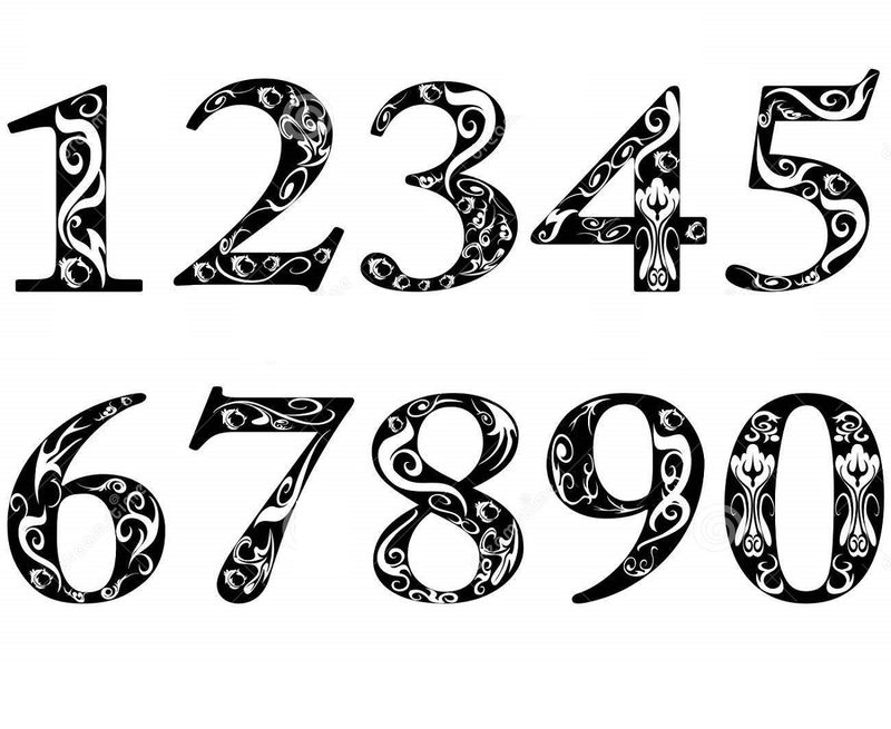 Pictures Of Numbers 1 10 Unique