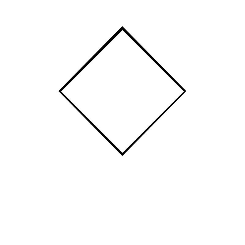 Pictures Of Rhombus Shapes For Kids
