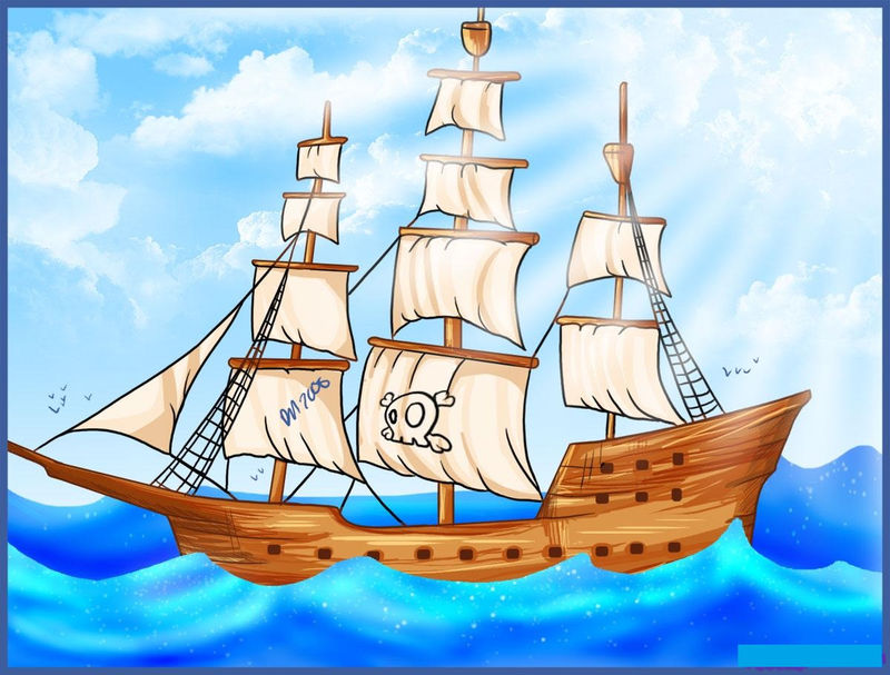Pirate Ship Pictures For Kids New