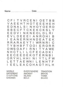 Pirate word search page 001