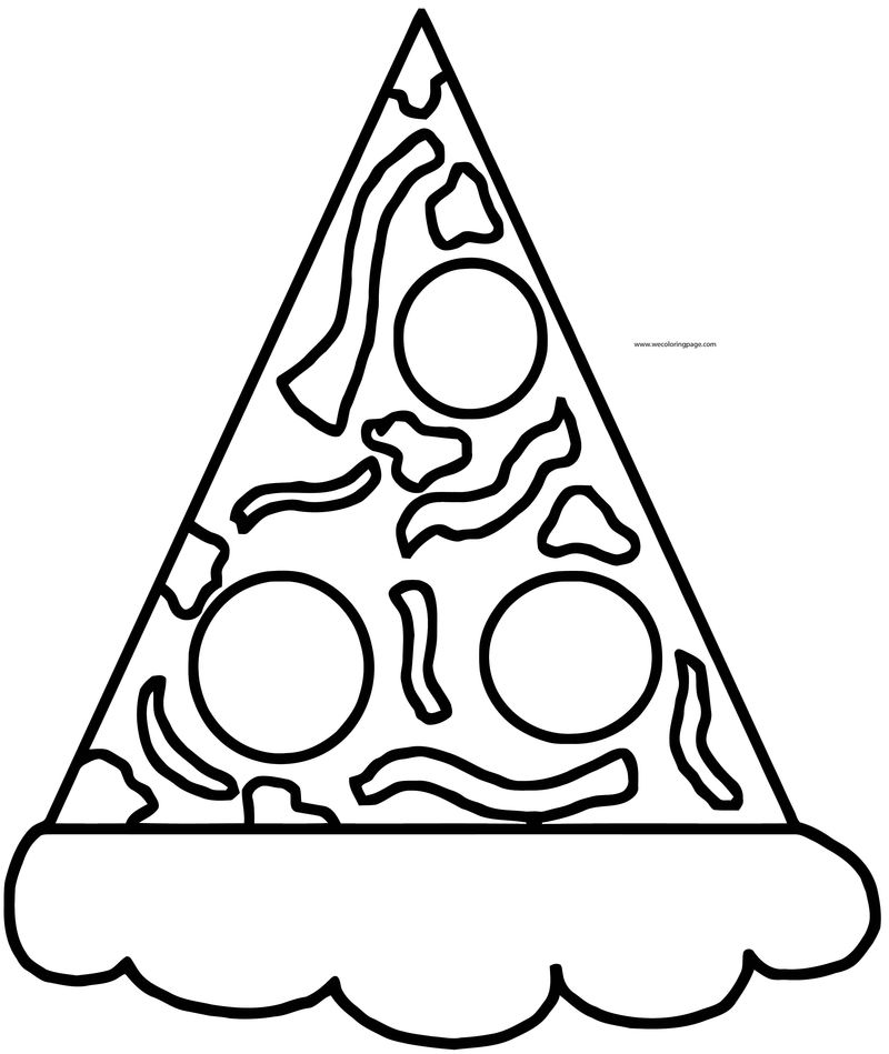 Pizza Cutout Printable Template Pattern No Matter How You Slice It Me And Jesus Make A Great Combo Craft For Kids Sunday School Coloring Page
