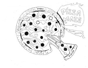 Pizza maze for kids free